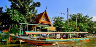 du lịch bằng Thuyền ở Bangkok