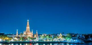 Khu bờ sông ở Bangkok