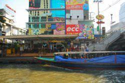 Bến tàu Pratunam ở Bangkok