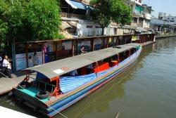 Bến tàu Phanfa leelard ở Bangko