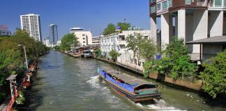 đi thuyền ở Bangkok