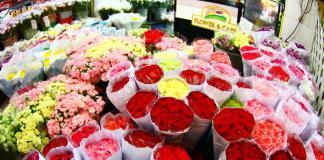 Chợ hoa Bangkok