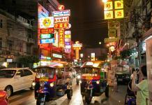 Phố người Hoa ở Bangkok
