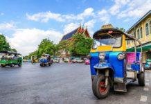 Lần đầu tiên đến Bangkok