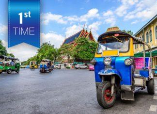 Lần đầu đến Bangkok