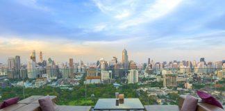 Quang cảnh Bangkok nhìn từ khách sạn
