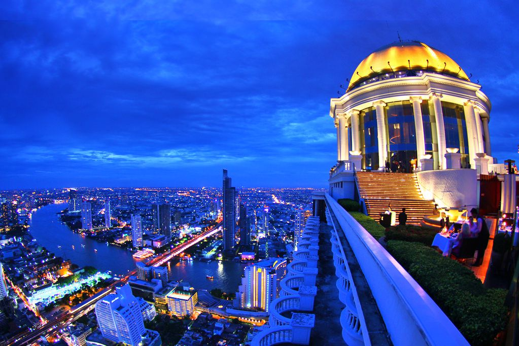 Sky Bar ở Lebua State Tower