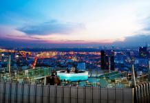 Rooftop bar Octave ở Bangkok