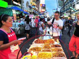 Street food Thái Lan