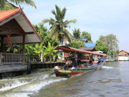 Du ngoạn sông Chao Phraya bằng thuyền đuôi dài
