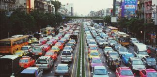Kẹt xe ở Bangkok. Photo: GettyImages