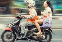 Đi xe ôm ở Bangkok